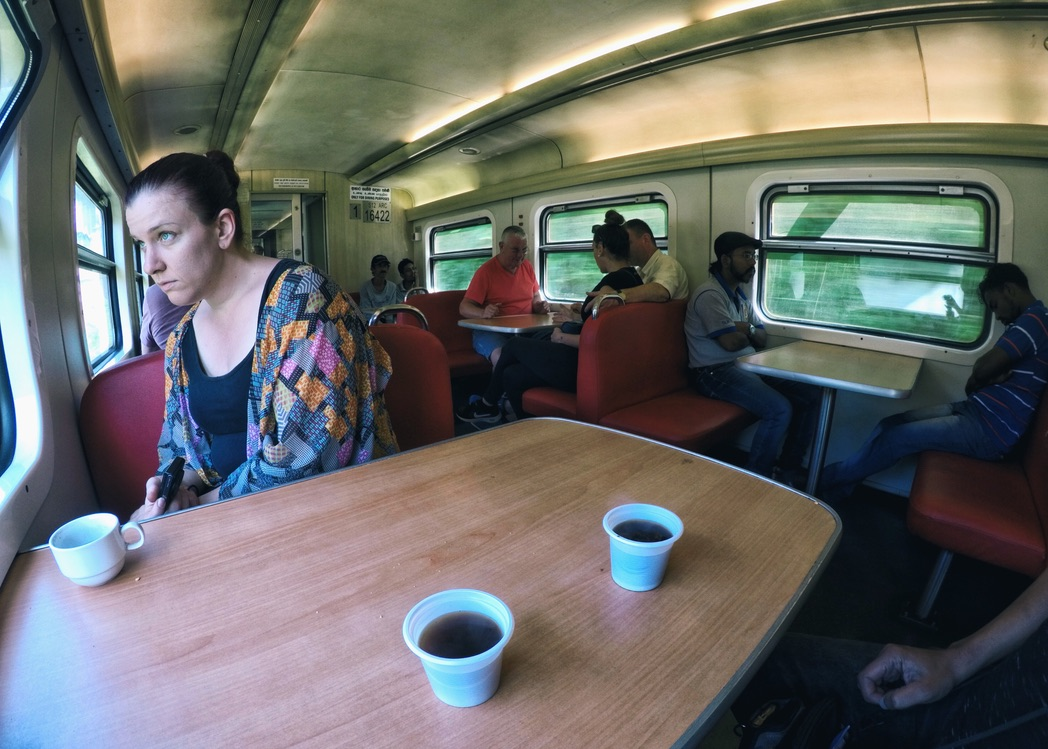 Dining Car Of Train From Kandy To Ella