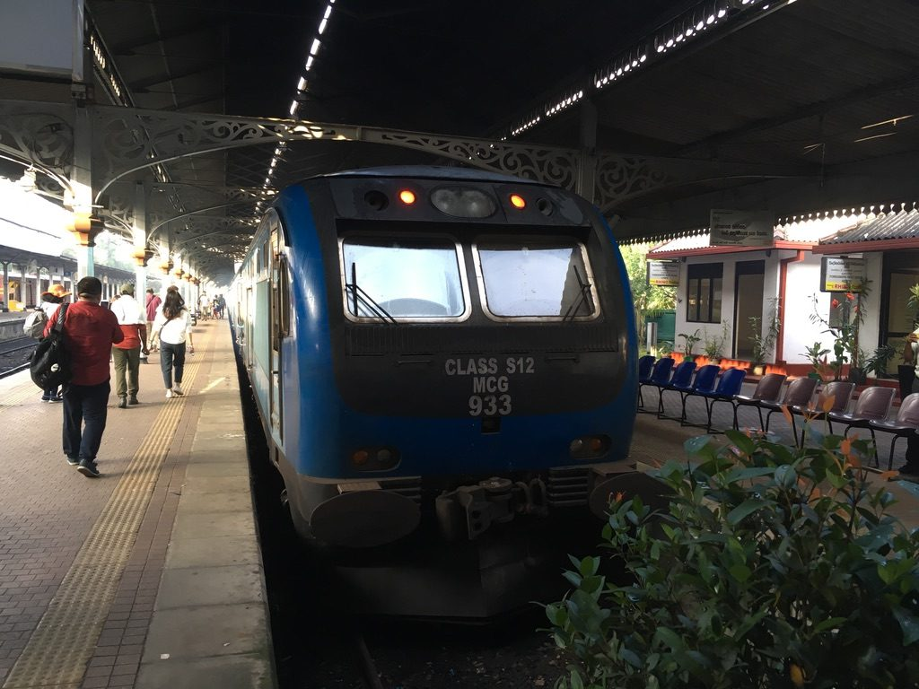 Train At Kandy Station