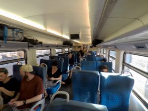 First Class Train Car Sri Lanka
