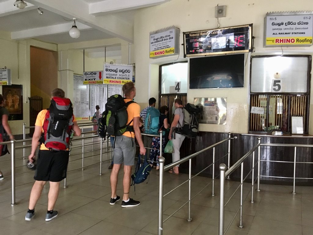 Train Ticket Kandy