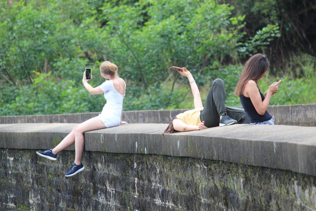 Taking Selfie 9 Arch Bridge