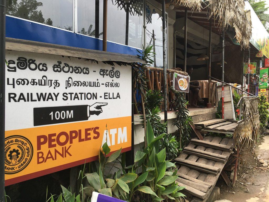 Ella Train Station