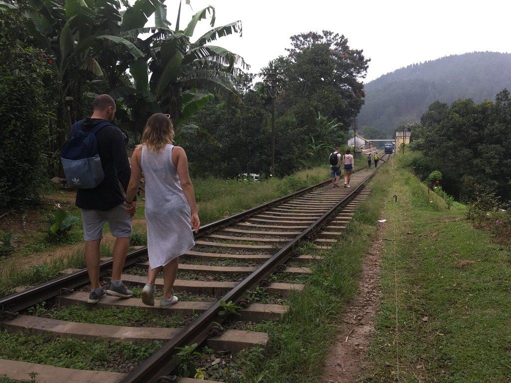 Walk On Train Tracks