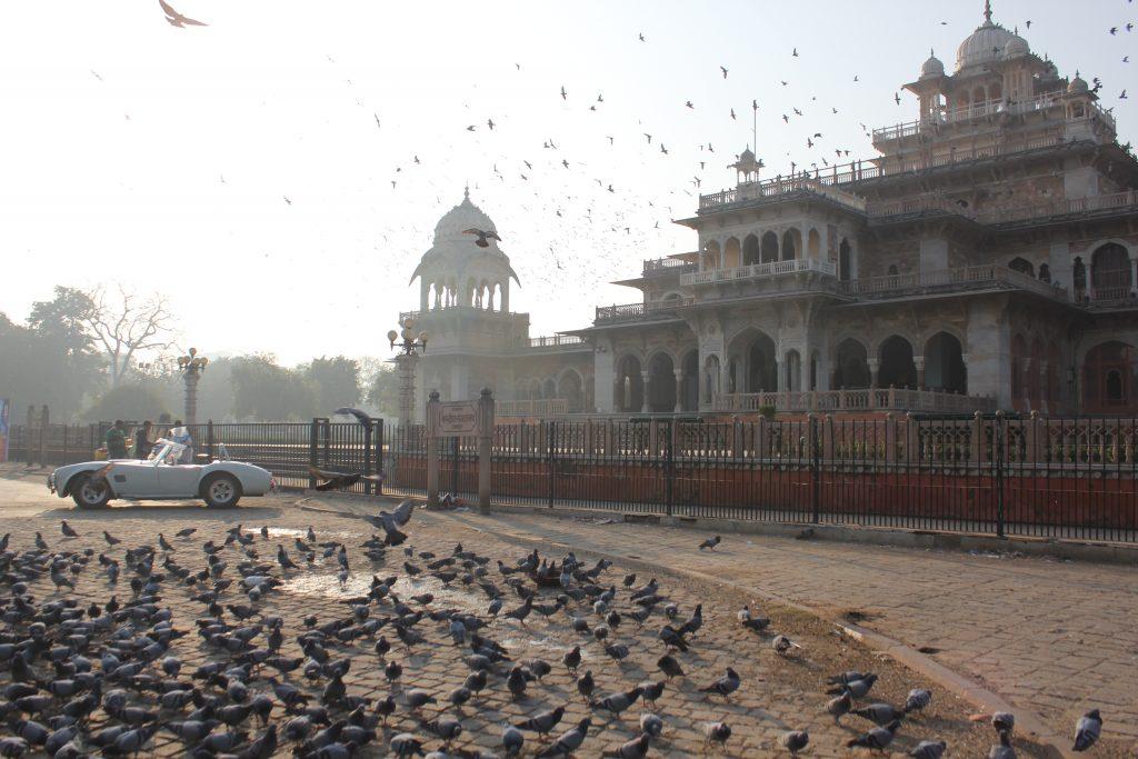 Albert Hall Jaipur In Morning