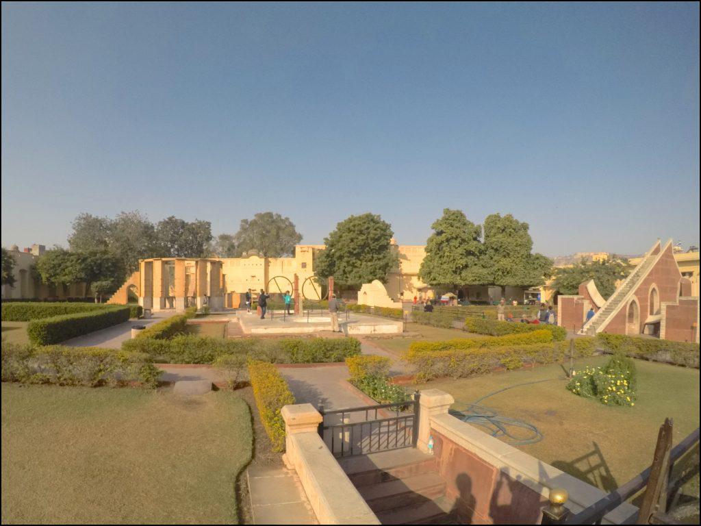 Inside Jantar Mantar Jaipur