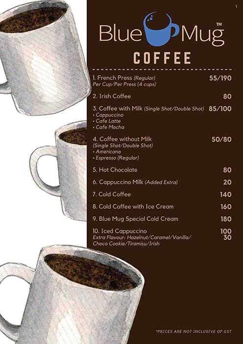 Cafe Blue Mug