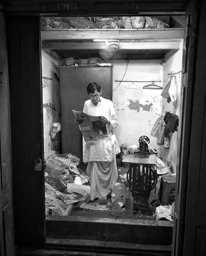 Tailor Taking A Break - Kolkata Photo Walk